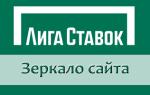 Рабочее зеркало Liga Stavok com на сегодня